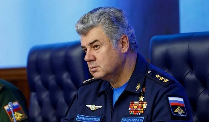 """Bondarev disse que a """"falha"""" eletrônica Mi-28"""