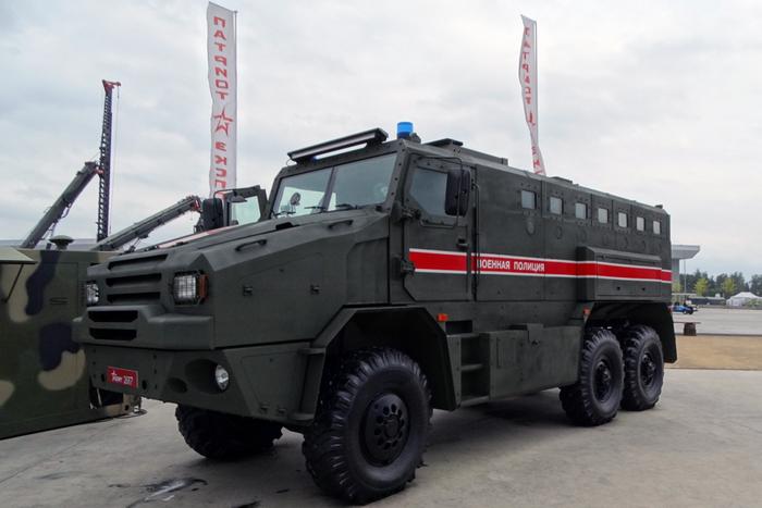 """Военная полиция получит бронеавтомобили """"Федерал-М"""""""