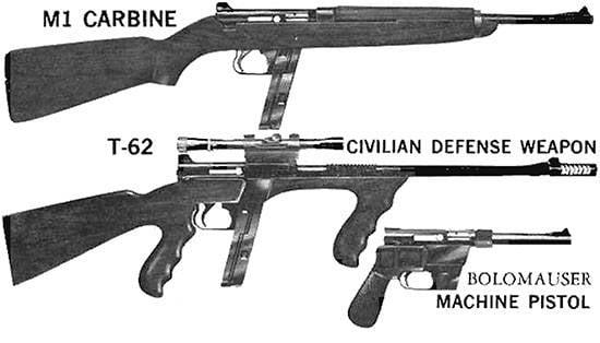 Fucile autocaricante ArmaLite AR-7 Explorer (USA)