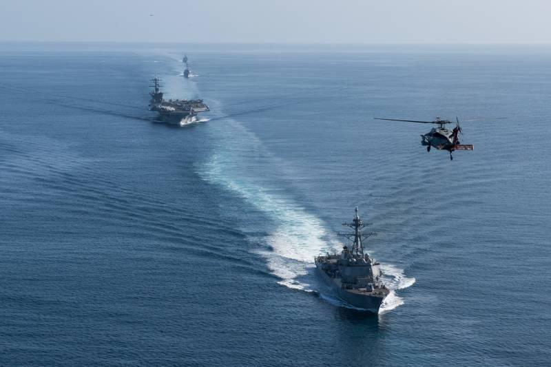 Три авианосные группы ВМС США проведут маневры в Тихом океане