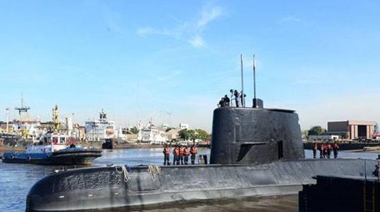 阿根廷海军停止了圣胡安柴电导弹潜水艇的救援人员