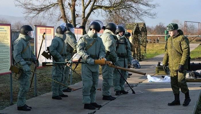 ウドムルトでは、新しいエンジニアリングサッパー連隊を結成