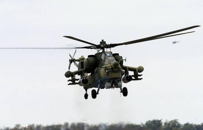 """Mi-28N """"Night Hunter"""" est entré dans le régiment d'hélicoptères ZVO"""