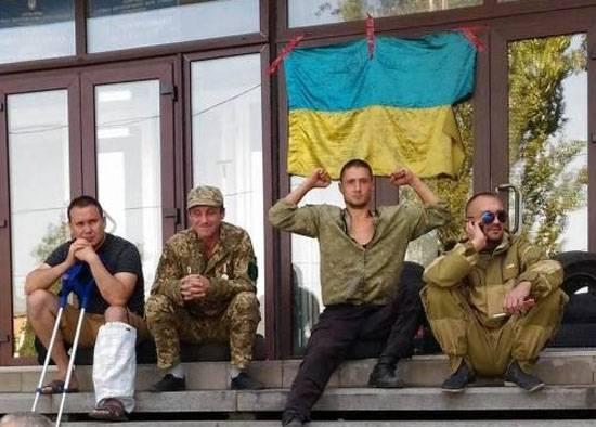 Terrenos asignados para veteranos de ATO ... en el cementerio de Zaporizhzhya