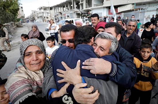 Golosinas de Sochi, lisiados de Ginebra: Siria elige su propio futuro