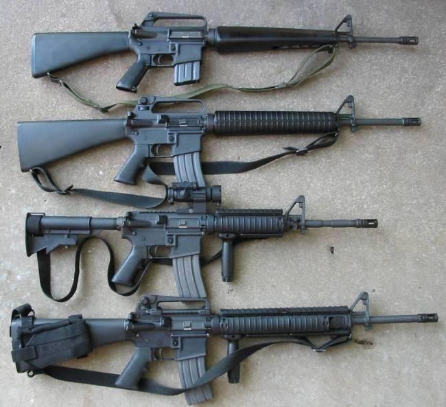 Le Pentagone a signalé quand l'armée américaine a abandonné le M16