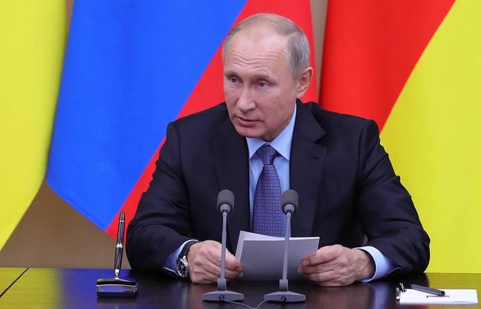 Путин внес в Госдуму соглашение о порядке вхождения подразделений ВС Южной Осетии в ВС РФ