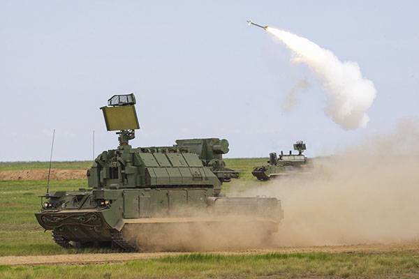 "The calculations of ""Tor-М2"" performed combat shooting in the Astrakhan region"