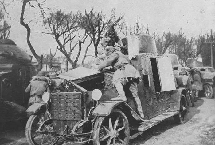 Armored car Wolseley-Sumida (Japan)