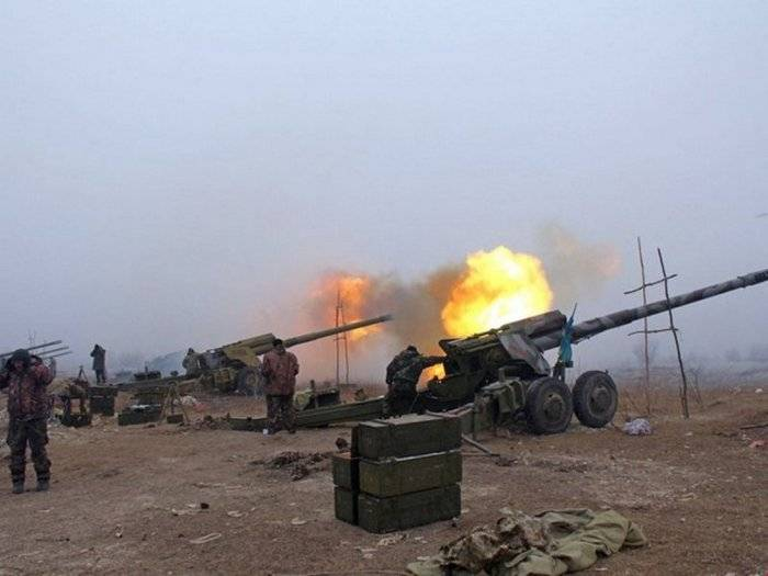 APU used heavy artillery in the south of the DPR. Under the blows 21 locality