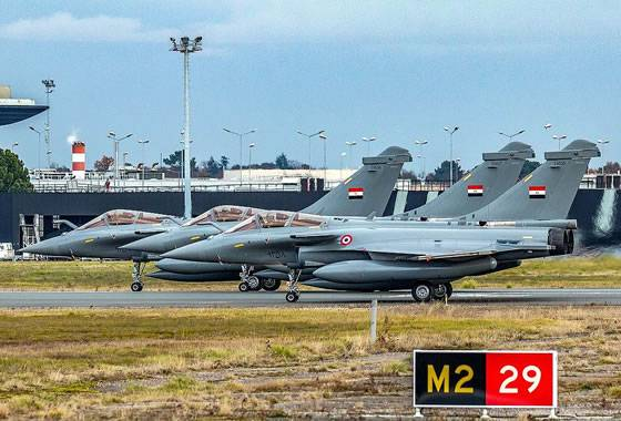 """Egypt received the last batch of single """"Rafale"""""""