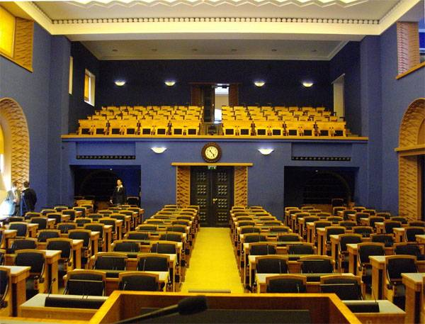 Estonian Parliament: And if tomorrow is war? ..
