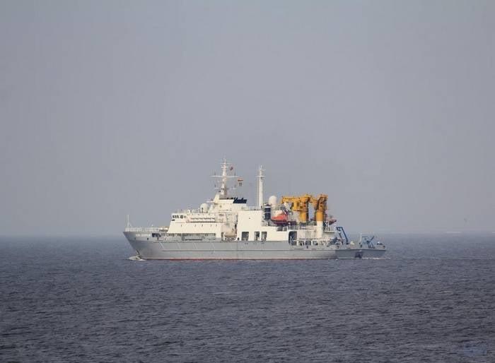 """""""Igor Belousov"""" est parti à la recherche de sous-marins de la seconde guerre mondiale"""