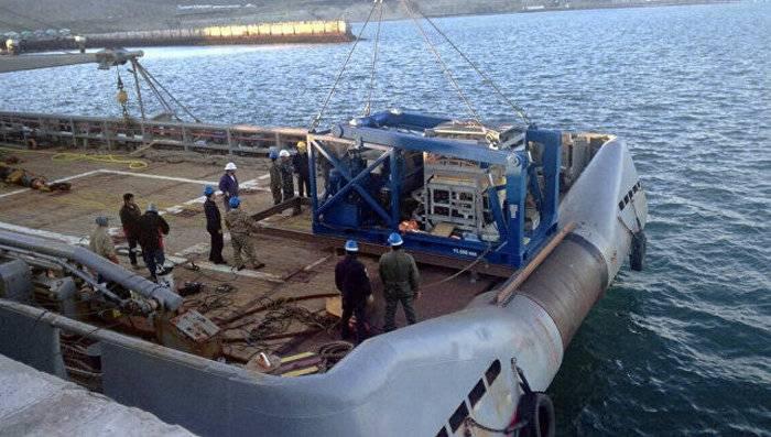 """La búsqueda del submarino argentino """"San Juan"""" se suspendió debido al mal tiempo"""