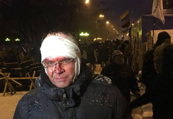 Blood is shed again in the center of Kiev