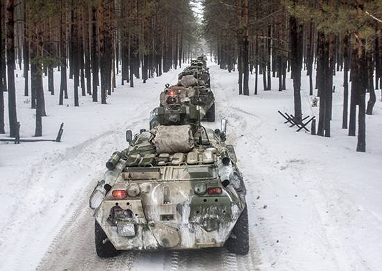 A large batch of BTR-80 has arrived in the Amur Association of the BBO