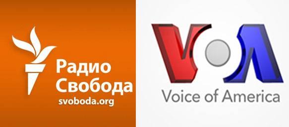 """러시아 연방의 국가 두마 (Duma)는 """"라디오 자유 (Radio Liberty)""""와 """"미국의 소리 (Voice of America)"""