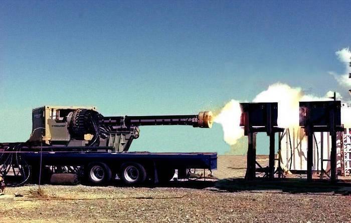 United States close the program to create a railgun