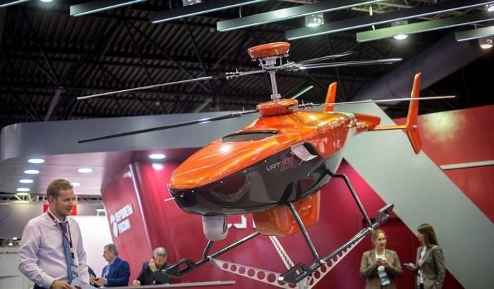 """""""Helicópteros de Rusia"""" presentó drone VRT300"""