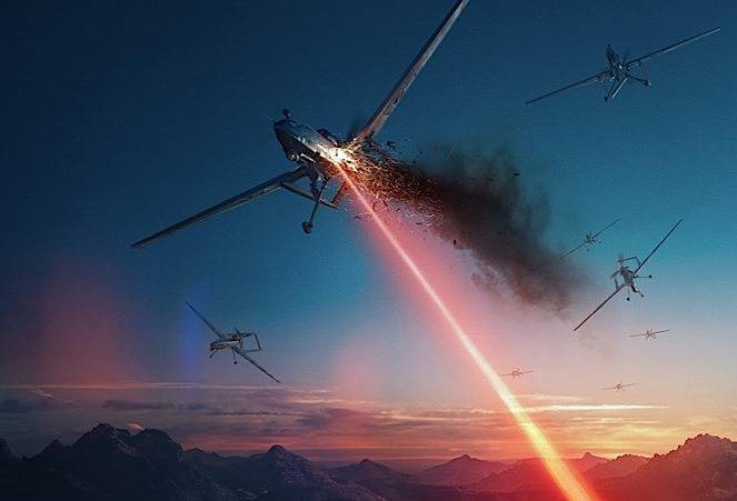 In the Russian Federation they plan to create a mobile laser to combat drones