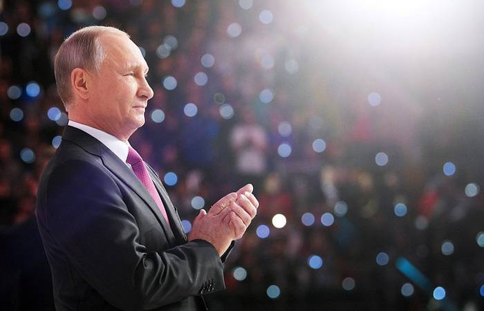 Putin announced his intention to participate in the presidential election