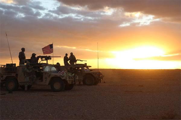 Le Pentagone a appelé le nombre de troupes américaines en Syrie et en Irak