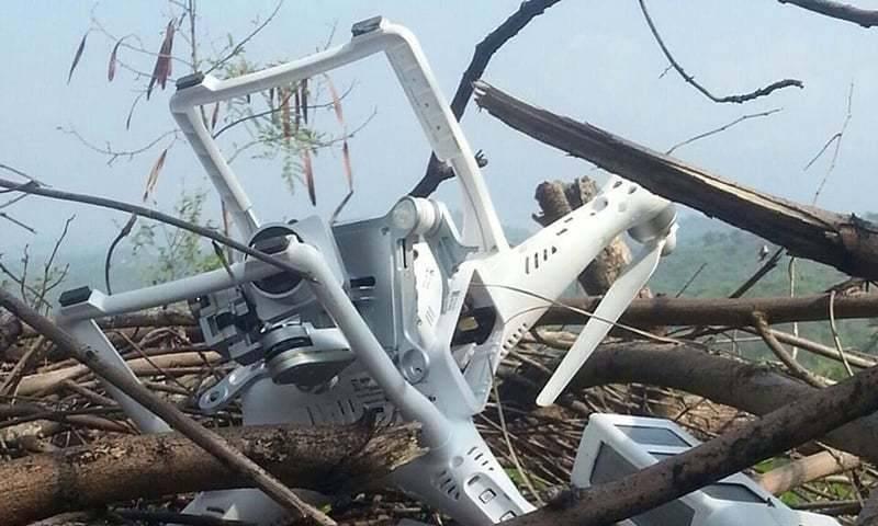 Drone indiano cruzou a fronteira aérea da China