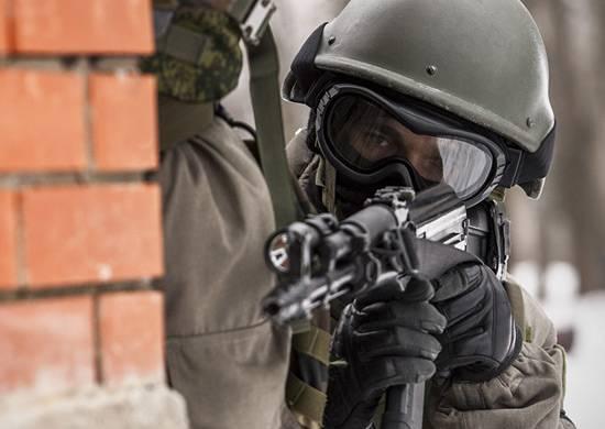 Antiterrorist training in Transnistria