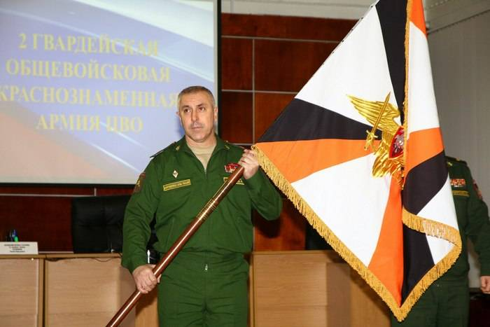 Major General Rustam Muradov nomeado comandante do exército de armas combinadas na região do Volga