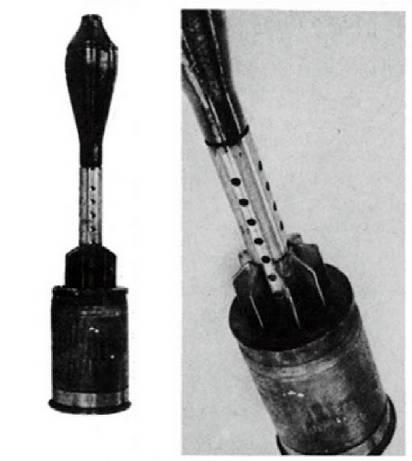 Pistola antitanque 8.1 cm Panzerabwehrwerfer L / 105 (Alemania)