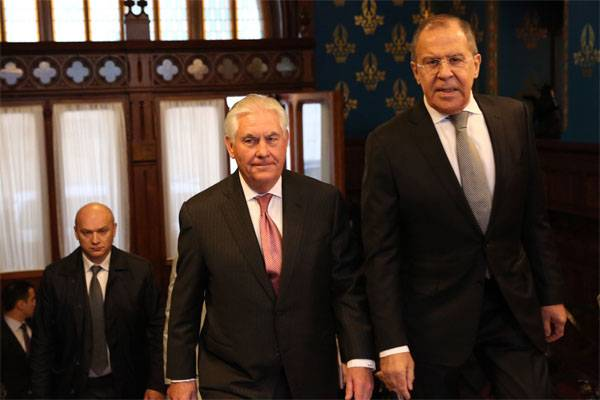 Tillerson on talks with Lavrov: It was a good meeting.