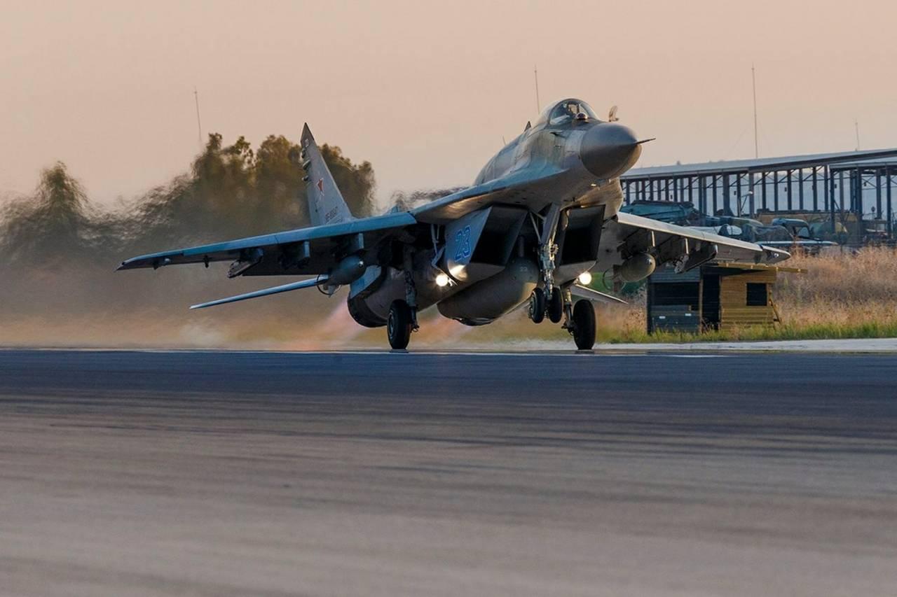 ВКСРФ вСирии занеделю совершили около 550 военных вылетов