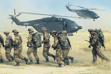 Beijing relies on a strategy of active defense