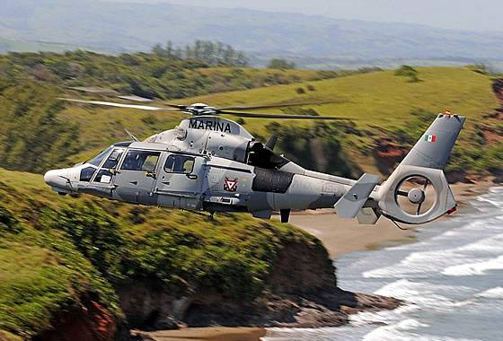 Airbus Helicopters has completed the delivery of AS-565MBe helicopters to Mexico