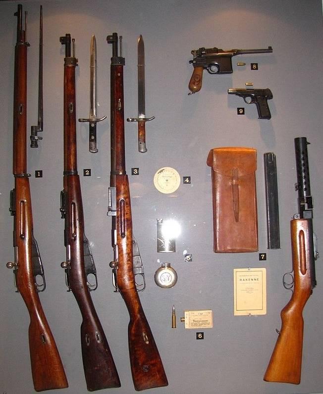 """""""Rifle for Simo Hähähä"""" (continuação do tema """"Rifles por países e continentes"""" - 1)"""
