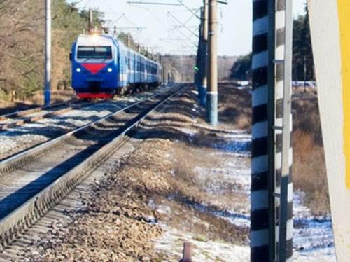 Todos los trenes Los ferrocarriles pasaron por alto Ucrania