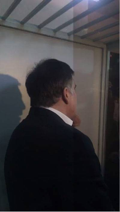 Saakashvili called himself a prisoner of war