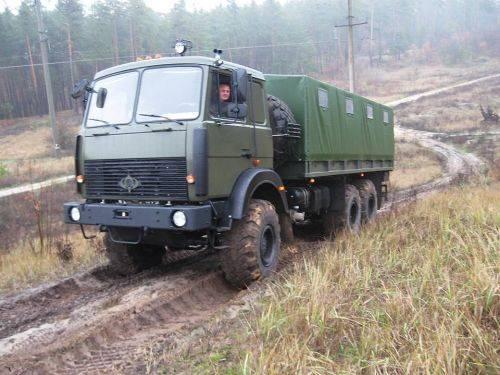Un nuovo camion è stato sviluppato per l'APU