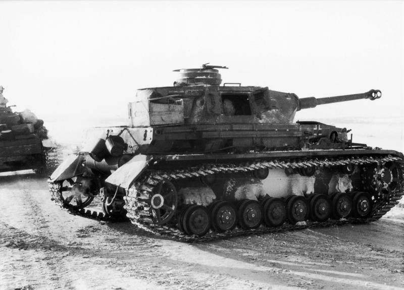 "As the Germans tried to save the army of Paulus. Operation ""Winter Thunderstorm"""