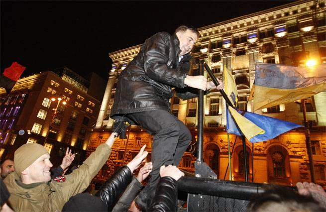 Saakashvili는 다시 무료입니다.
