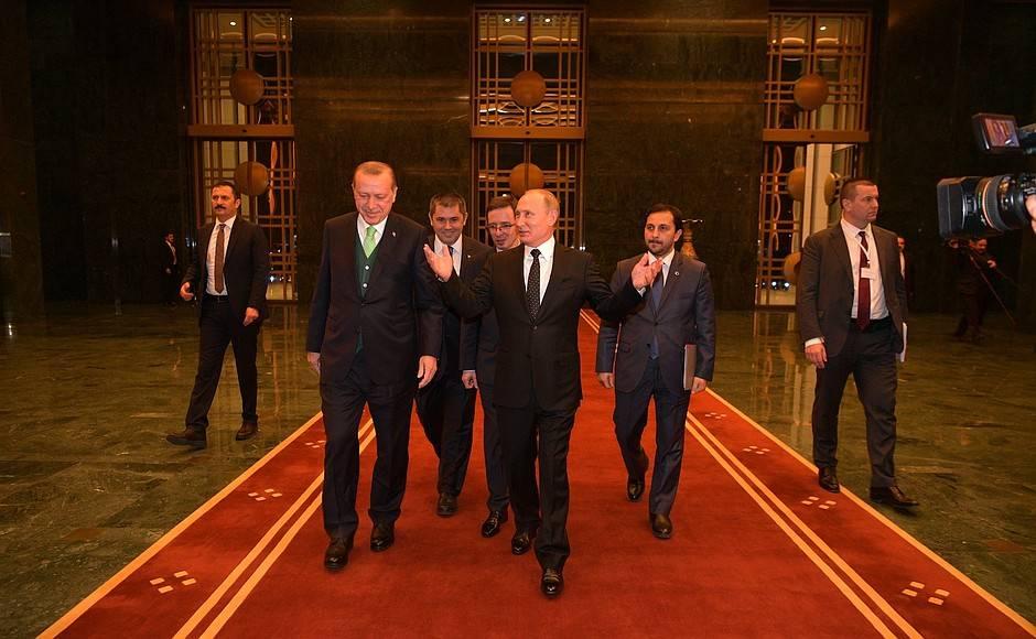 Специалист сказал, какие темы могли обговаривать навстрече Путин иЭрдоган