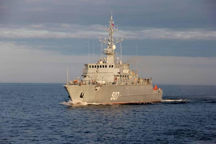 新しいプロジェクト12700の地雷防御船には、「ヤコフバリャエフ」という名前が付けられます。