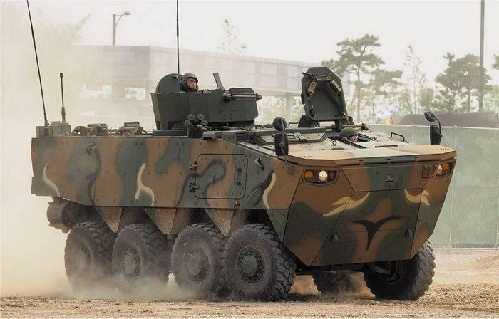 Южная Корея принимает на вооружение новые БТР