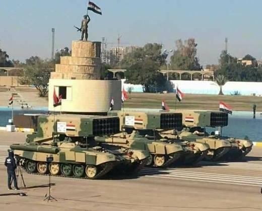 Il comando iracheno riconosce Sunshine come vera arma della vittoria