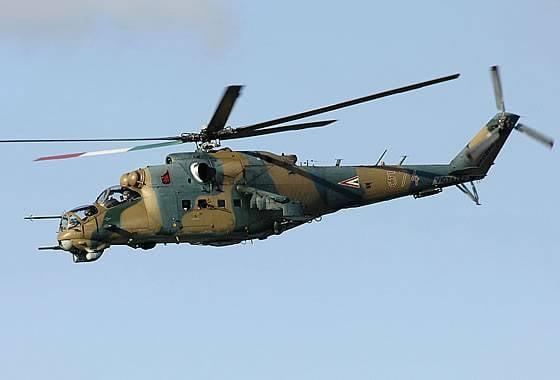 Россия отремонтирует венгерские вертолеты Ми-24Д