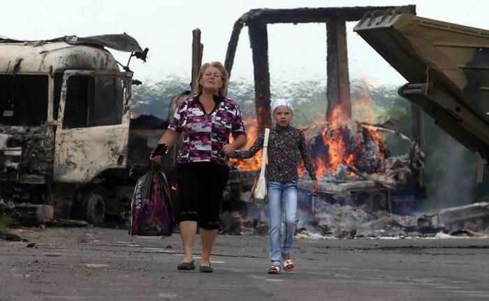 BM, Donbass'taki ihtilafın mağdurlarını saydı