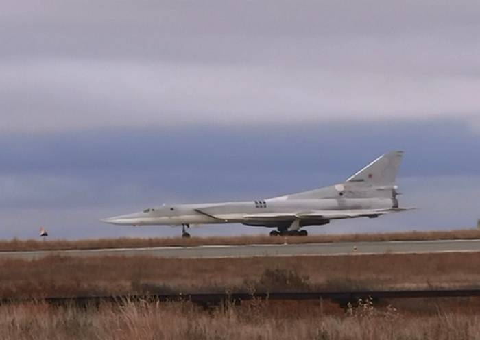 Tu-22М3 from Syria arrived in places of permanent deployment