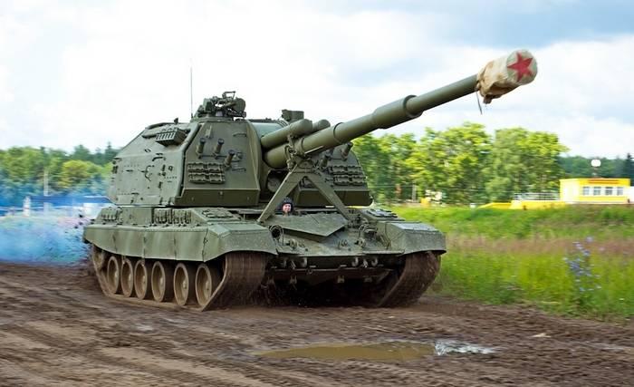 A brigada de artilharia ZVO recebeu novos obuses