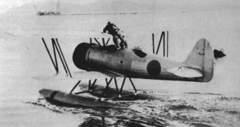 II. Dünya Savaşı'nda Japon denizaltı filosunun hidro havası. Bölüm IV