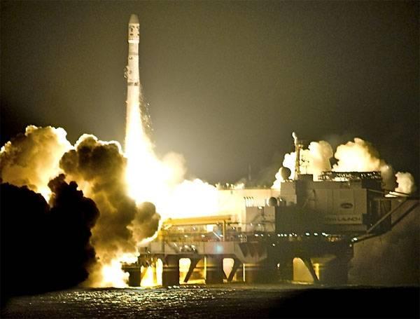 """Сборка ракет для """"Морского старта"""" будет осуществляться в США"""